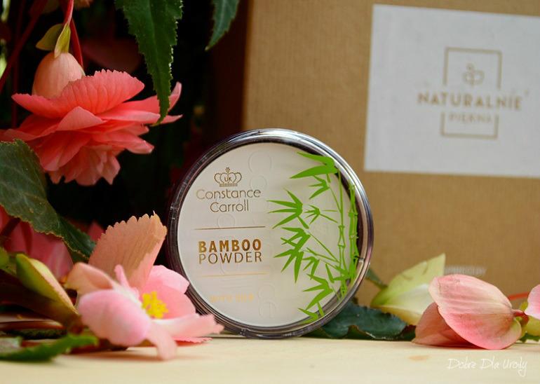 InspiredBy NATURALNIE PIĘKNA - Constance Caroll Puder bambusowy prasowany Bamboo With Silk