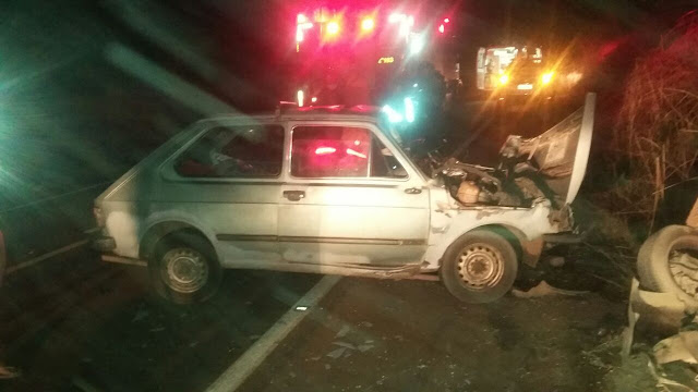 Três mortos e três feridos em acidente grave na BR-010, no MA