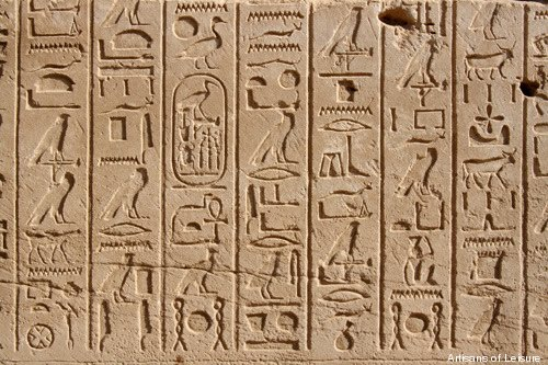 ancient egypt writing and communication