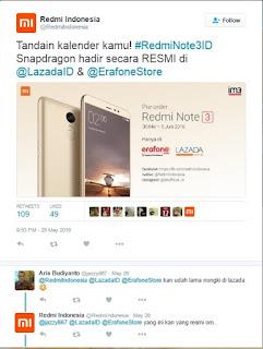 Redmi Note 3 Bakal Masuk Pasar Indonesia