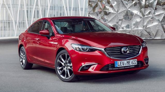 2017 Mazda 6 Sedan Design