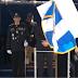 Παρέλασε μπροστά στον Φάμελλο με πανό: «Ο Θεός συγχωρεί, οι Έλληνες Μακεδόνες ποτέ» (photo+video)