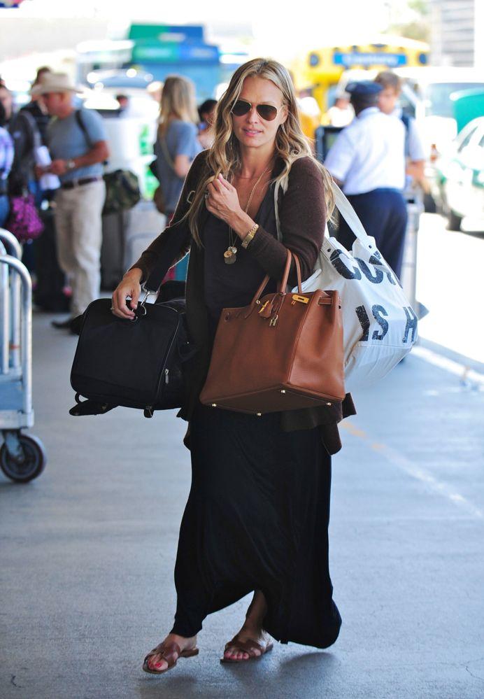 32d15596ddfb ... hermes massai pm shoulder bag. croc handbags cheap - BIRKIN WATCHER   Molly Sims