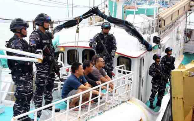 Selundupkan 1 Ton Sabu, TNI AL Tangkap Kapal China di Selat Philip