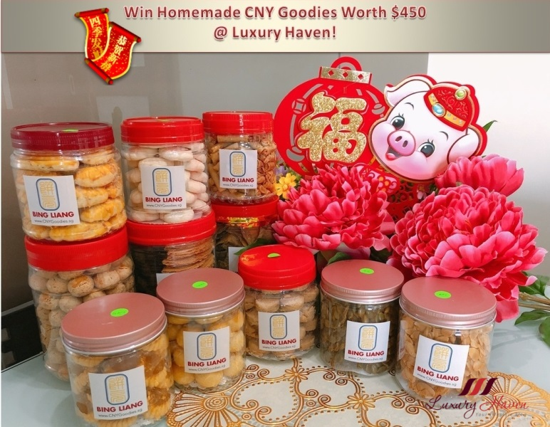 bing liang chinese new year homemade goodies giveaway