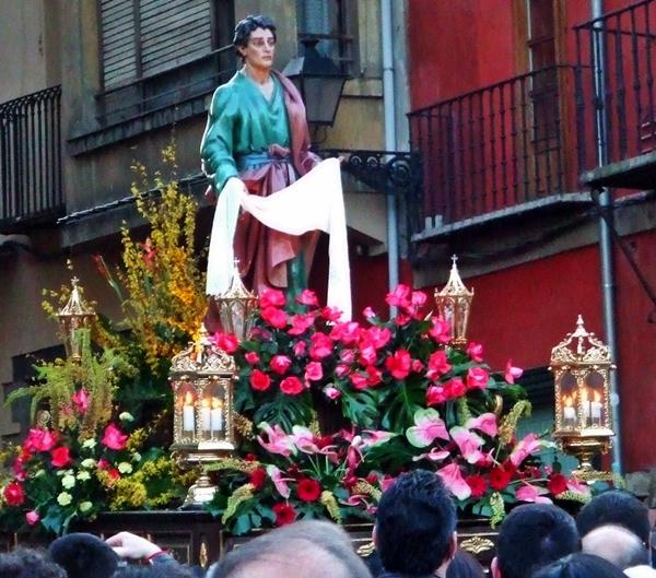 San Juan Evangelista. Cofradía Minerva y Vera Cruz. León. Foto.