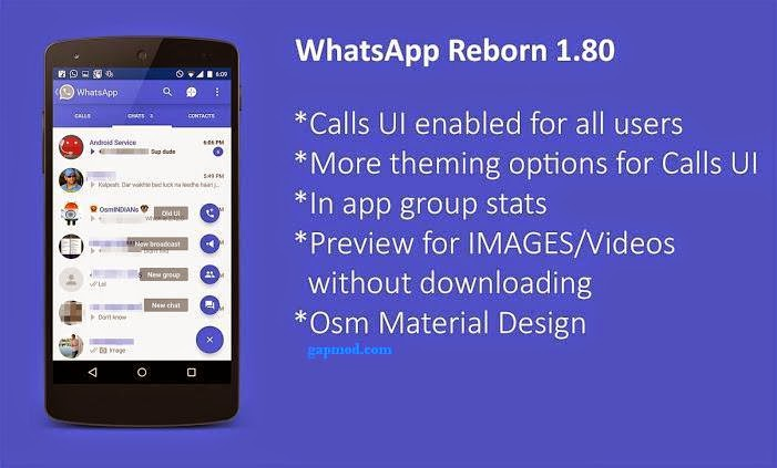 [Update] WhatsApp Plus Reborn v1.80 | WhatsApp+ Apk OsmDroid
