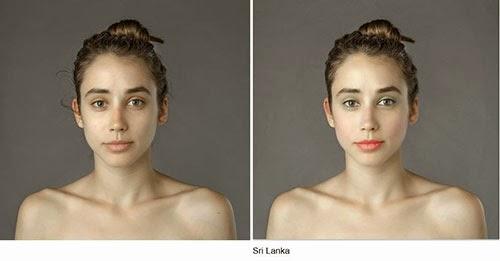 hasil photoshop wanita sri langka