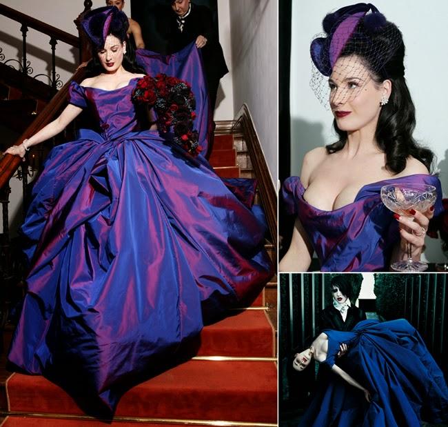 Dita Von Teese Wedding Dress 69 Amazing Casamentos Estilosos
