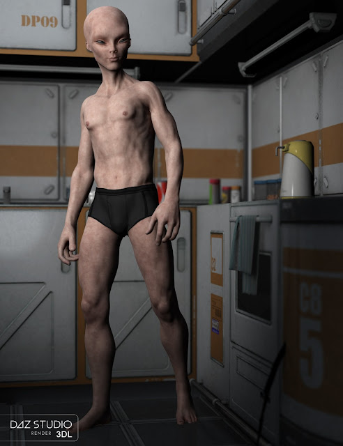 HyGrey for Genesis 3 Male