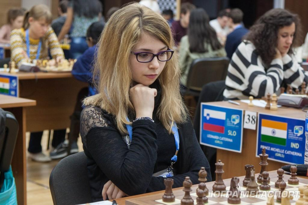La championne de France juniore, Andreea Navrotescu - Photo © site officiel
