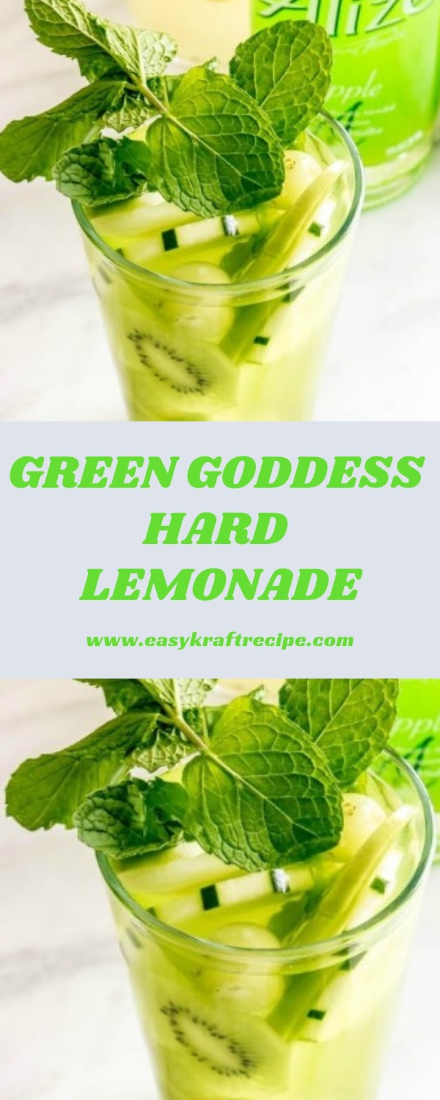 GREEN GODDESS HARD LEMONADE