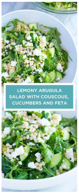 Lemony Arugula Salad