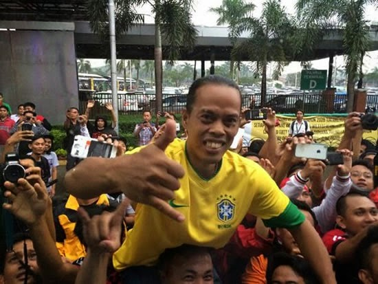 Ronaldinho have got young brother in Indonesia