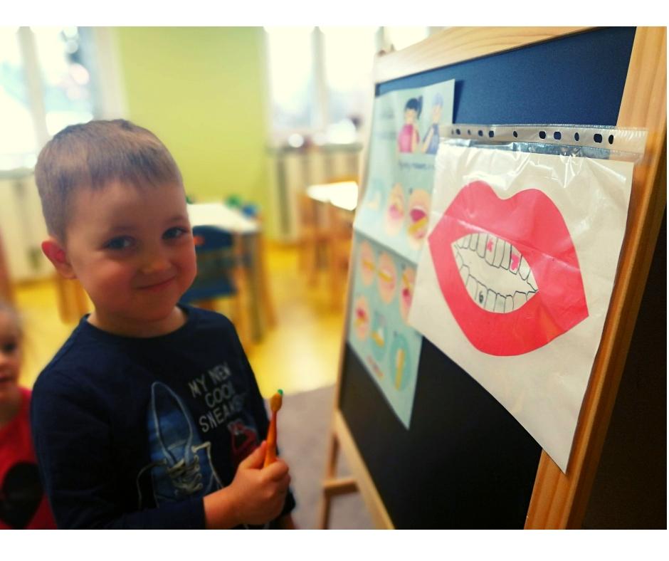 zajęcia przedszkole zęby