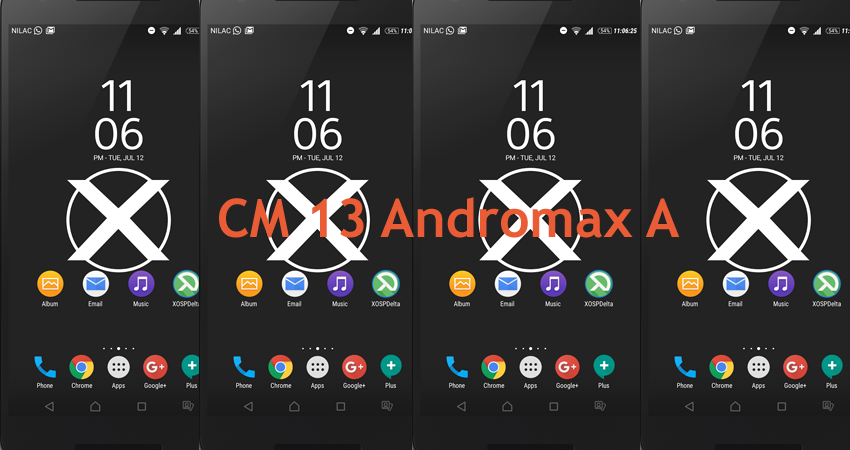 Download Custom Rom CM13 Modifed Andromax A PCB x20