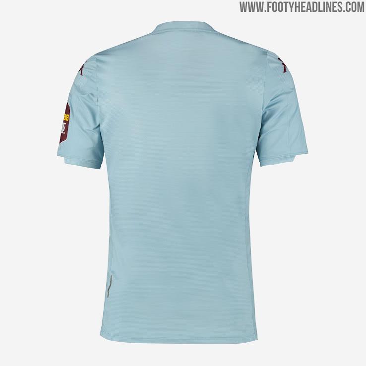 Aston Villa 19-20 Premier League Away Kit Revealed - Footy ...