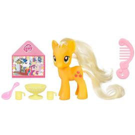 My Little Pony Single Wave 1 with DVD Applejack Brushable Pony