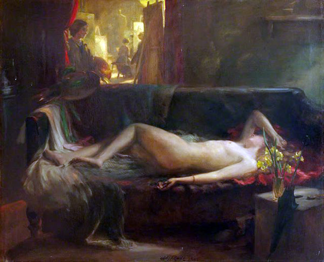 Charles Hodge Mackie, Il nude in arte