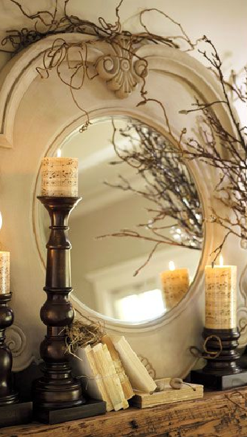 These vines fit with this stunning mirror spo perfectly
