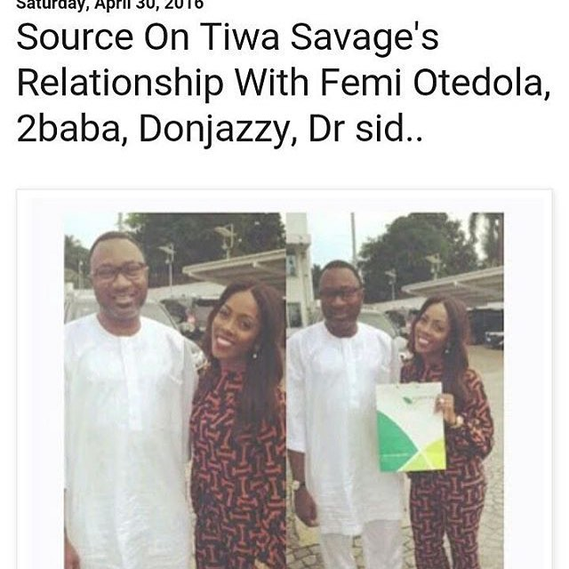 More Trouble For Tiwa As  A Source Reveal Her Relationship With Billionaire, Femi Otedola