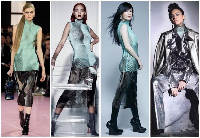 Same or Not 宣娜:2016流行色穿搭 粉綠、嫩綠