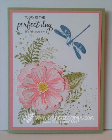 Bunch of Blossoms, Awesomely Artistic, Stampin'Up! Frenchiestamps