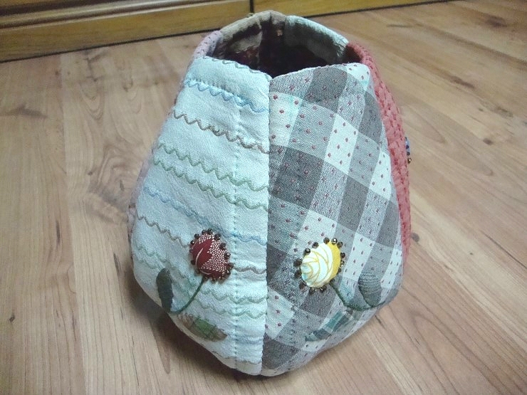 Simple and convenient bag. Patchwork, Quilting. DIY Picture Tutorial.  Простая и удобная сумка. Лоскутное шитьё (пэчворк, квилтинг).