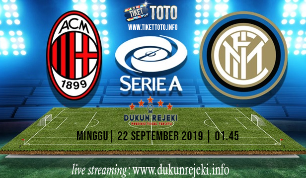 Prediksi Pertandingan Ac Milan Vs Inter 22 September 2019