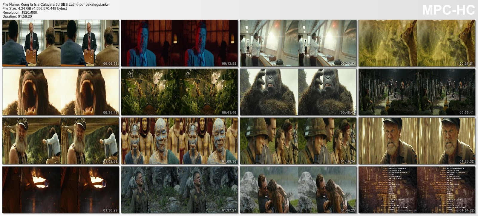 Kong: La Isla Calavera (2017) HD 3D 1080p Español Latino 3