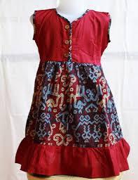 Model Dress Batik Anak Perempuan Modern Terbaru