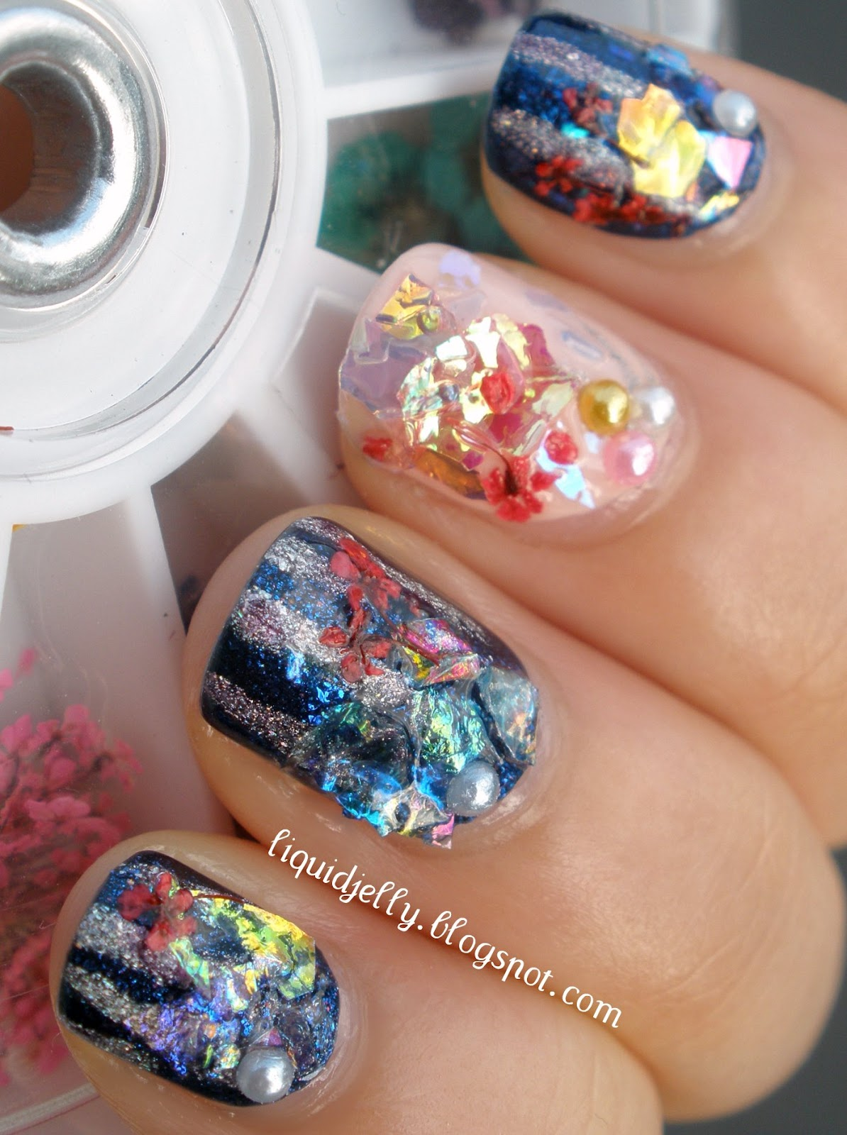 Liquid Jelly: Born Pretty Store Iced Mylar Sheets Review