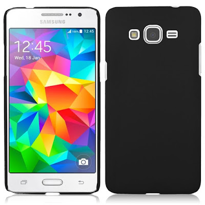 Spesifikasi Samsung Galaxy Grand Prime           Galaxy Grand Prime     Galaxy Grand Prime dilengkapi dengan prosesor bertenaga 1.2 GHz Quad-Core untuk Performansi multitasking yang cepat dan dapat diSobat gadgetlkan, Dengan bantuan RAM 1 GBnya pengguna dapat melakukan multitasking dengan mudah dan pemrosesan aplikasi yang cepat. Dengan Kamera utama yang memiliki kekuatan 8MP membuat kualitas gambar tidak bisa dianggap remeh, sehingga Sobat gadget tidak kuatir didalam untuk mengabadikan momen Sobat gadget di dalam ruangan yang kurang cahaya. Selfie dengan temanpun akan menjadi asyik, Galaxy Grand Prime memiliki kamera depan sebesar 5MP dengan sudut pSobat gadget ultra-wide 85°C, membuat Sobat gadget nyaman untuk berselfie ria dengan teman-teman saat berada di momen yang tepat.      Pengguna juga tidak perlu khawatir karena kehabisan batterai, karena batterai Galaxy Grand Prime memiliki kapasitas 2.600 mAh, bisa dikatan cukup awet, saya sendiri sudah melihat kualitas batterainya yang tahan lama, Sobat gadget dapat menonton video, bermain game, mendengarkan musik, browsing lebih lama dengan smartphone ini.     Didukung juga dengan OS KitKat v.4.4.2, membuat Galaxy Grand Prime semakin up to date, dilengkapi juga dengan berbagai fitur berguna untuk penggunaan, performansi, dan produktivitas yang lebih baik.  Kelebihan  Jaringan 2G dan 3G serta dukungan data GPRS, EDGE, HSDPA, dan WLAN  SIM Card dengan Dual SIM (Micro-SIM, dual stand-by)  Memori Internal dengan kapasitas 8GB  Memori eksternal dibatasi 64GB  Kamera belakang beresolusi 8 MP, 3264 x 2448 pixels, dengan fitur autofocus, LED flash  Kamera depan cukup besar res