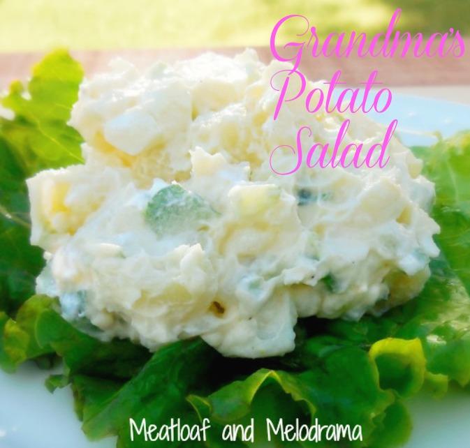 homemade potato salad