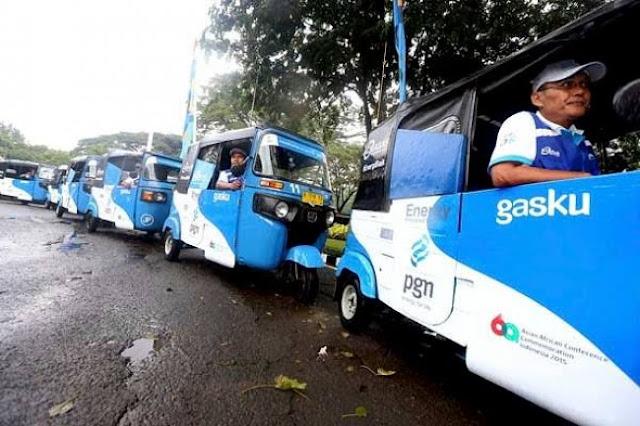 Komunitas Bajaj Jakarta Sampaikan Tiga Tuntutan ke Pemda DKI