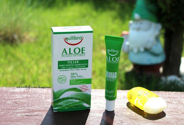 Aloesowe serum wypełniające z efektem natychmiastowym od Equilibra