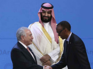 World leaders welcome Saudi prince at G20, avoiding isolation