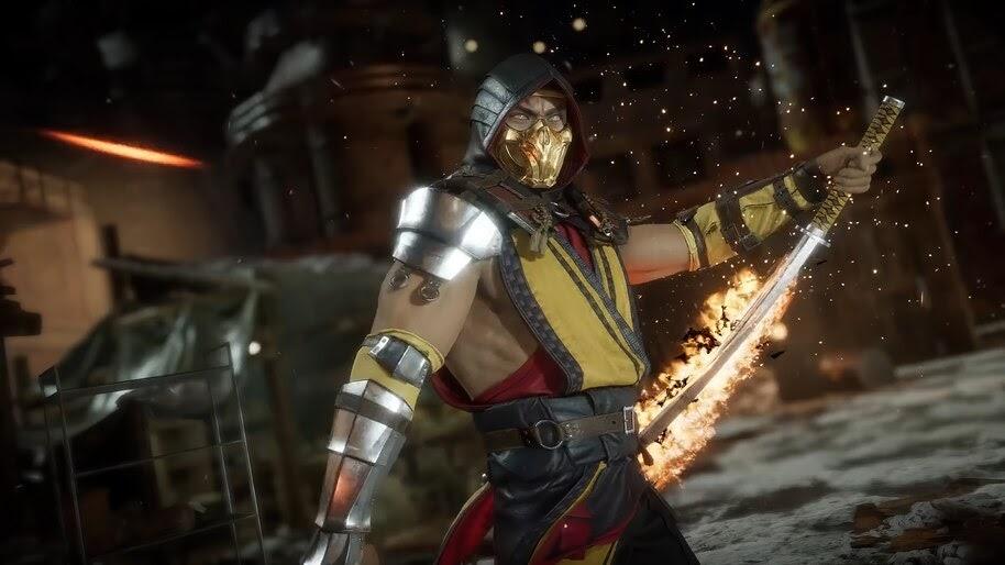 Scorpion, Mortal Kombat 11, 4K, #7.1318