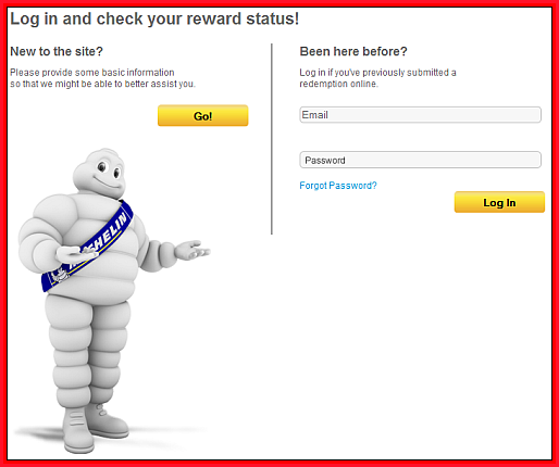 michelin tire rebate status