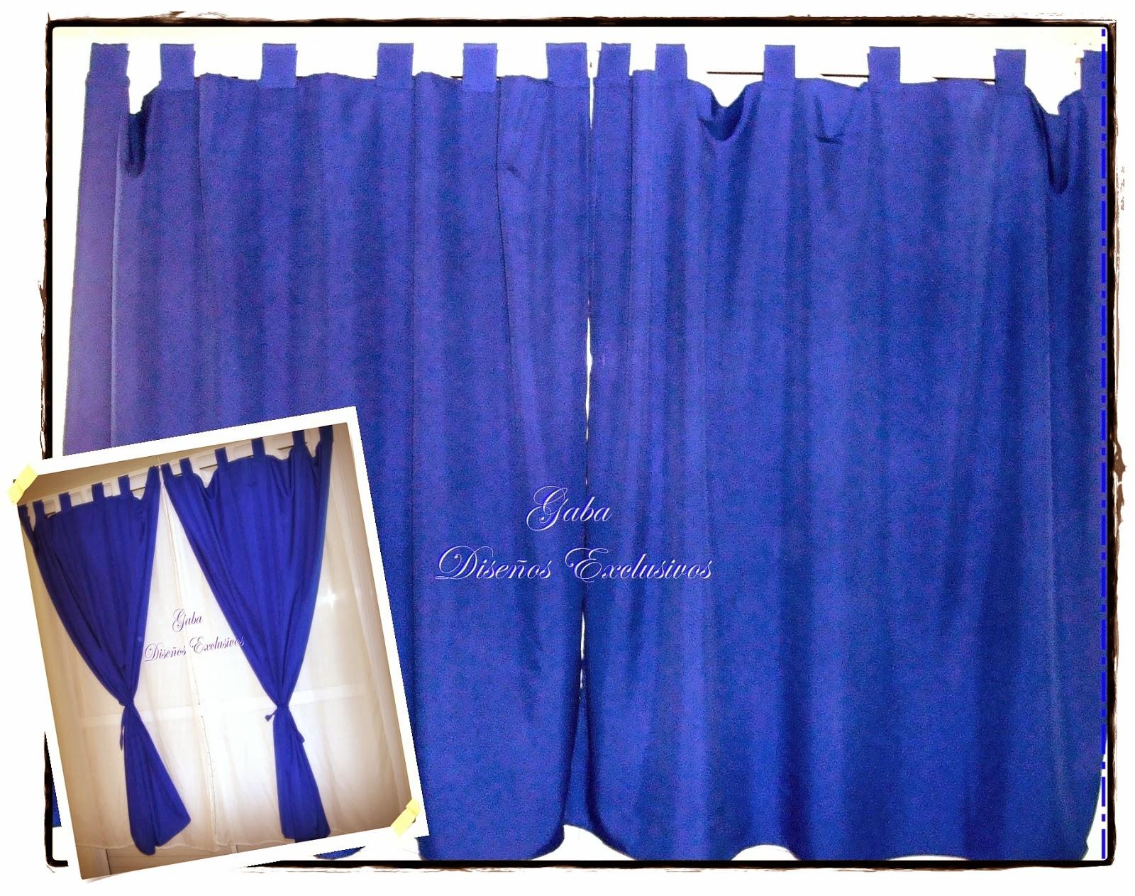 23e8cae20 Son dos paños, uno de color azul francia (realizado en tropical) y uno en  voile triple que es una tela translúcida, en este caso color blanco.