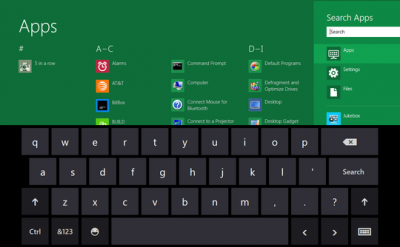 Windows8 Keyboard Shortcuts
