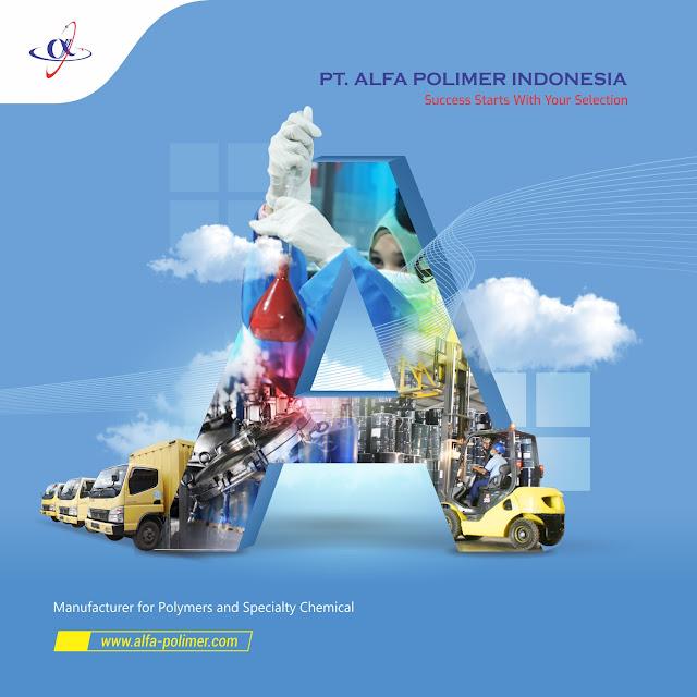 Lowongan Kerja SMA SMK D3 S1 PT. Alfa Polimer Indonesia, Jobs: Admin Produksi, Administrator Produksi, Operator Helper Driver Gudang, Pelaksana Quality Proses.