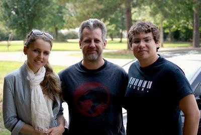 Kristy, John and Jesse