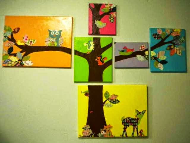 canvas painting ideas for baby room