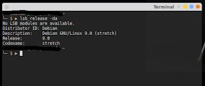 Cara Mengecek Versi Linux Debian