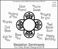 ODBD Medallion Sentiments