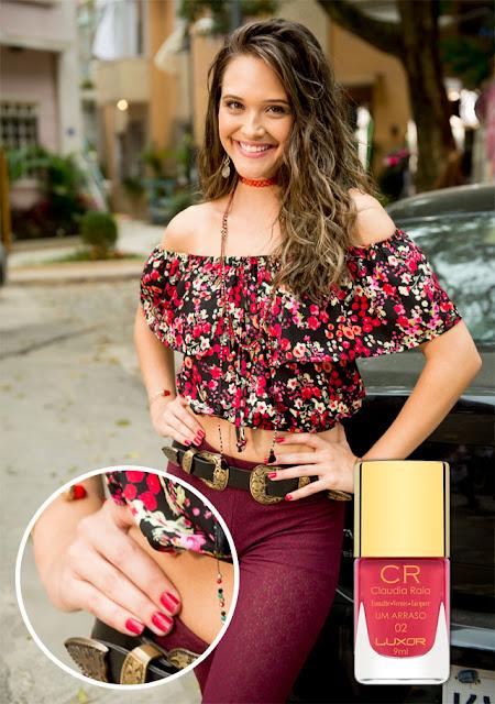 Descubra o esmalte de Juliana Paiva, a Cassandra em Totalmente Demais (foto: TV Globo/divulgação)