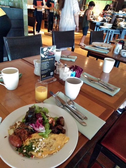 朝食@ロイヤルオーキッド・シェラトン・ホテル&タワーズ