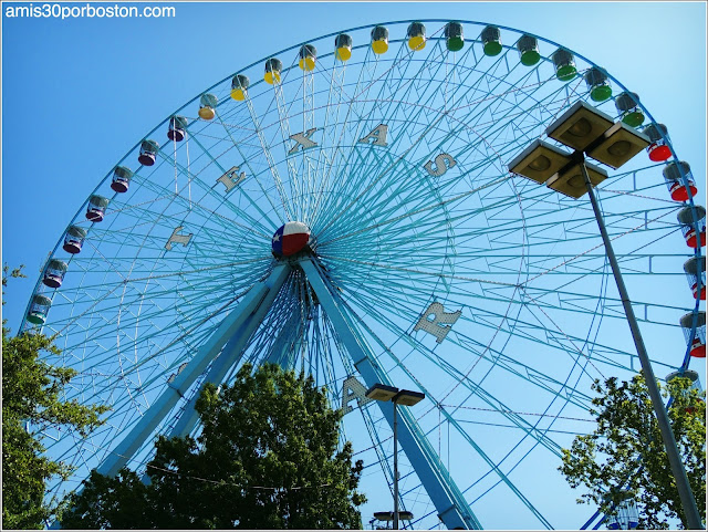 Texas Star Ferris Wheel en el Fair Park de Dallas