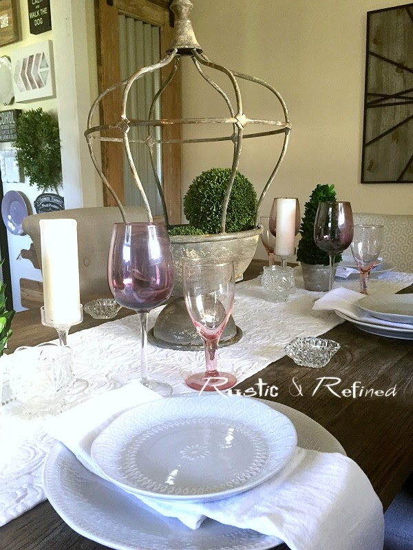 Entertaining Summer Tablescape